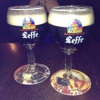 Photo taken at Leuven Belgian Beer Cafe by S N. on 6/7/2012