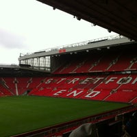 Photo taken at Manchester United Museum & Tour Centre by Jyn on 6/24/2012
