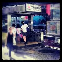 Photo taken at Den-en-toshi Line Sangen-jaya Station (DT03) by 李月 王. on 8/2/2012
