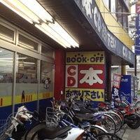 Photo taken at BOOKOFF 本厚木駅前大通り店 by MAYUKI on 5/26/2012