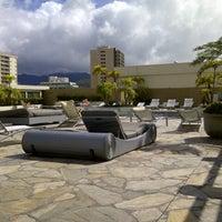 Photo taken at Hilton Waikiki Beach by Patrick M. on 8/6/2012
