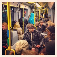 Photo taken at M10 Party Tram by Donald B. on 2/19/2012