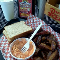 Photo taken at Dick's Bodacious BBQ by David Allen on 6/27/2012