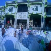 Photo taken at Masjid Agung by Putri W. on 8/18/2012