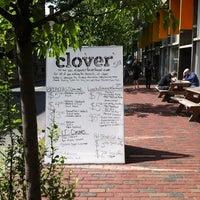Photo taken at Clover Food Lab by Vegan M. on 5/18/2012