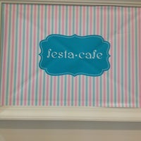 Photo taken at Festa Cafe by IiMiniJajahZii j. on 7/24/2012