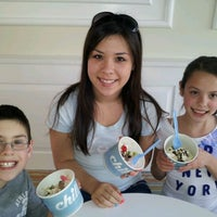 Photo taken at Chill Frozen Yogurt by Wendy C. on 3/13/2012