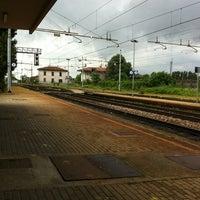 Photo taken at Stazione FS di San Zeno by Daniele on 6/12/2012