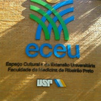 Photo taken at Espaço Cultural e de Extensão Universitária (ECEU | FMRP/ USP) by Fernando T. on 5/3/2012