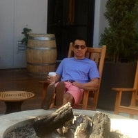 Photo taken at Avia Terrace and Fire Pit by Wil S. on 7/4/2012