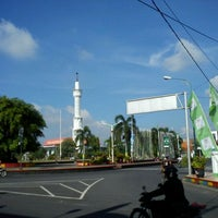 Photo taken at Alun - Alun Pati by adi p. on 2/23/2012