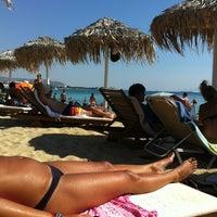 Photo taken at Agios Prokopios Beach by Steo F. on 8/16/2012