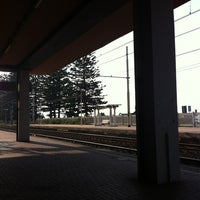 Photo taken at Stazione Bordighera by Stefano on 8/22/2012