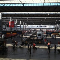 Photo taken at Munich Main Railway Station by Christopher D. on 3/28/2012