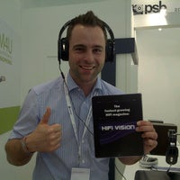Foto tomada en PSB Speakers @ HIGH END 2012  por PSB S. el 5/4/2012