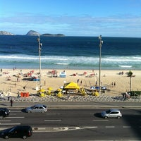 Photo taken at Sol Ipanema Hotel by Márcio C. on 5/2/2012