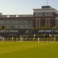 Photo taken at FirstEnergy Stadium - Cub Cadet Field by Nino C. on 8/17/2012
