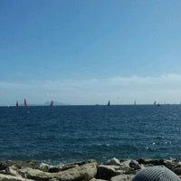 Photo taken at America's Cup Village by Francesco C. on 4/13/2012