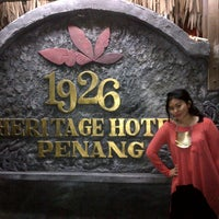 Photo taken at 1926 Heritage Hotel by Pritta D. on 8/26/2012