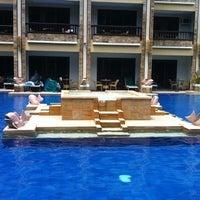 Photo taken at Henann Regency Resort and Spa by Rene on 5/4/2012