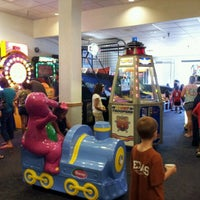 Photo taken at Chuck E. Cheese's by Arjahany J. on 7/29/2012