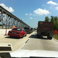 Photo taken at Huey P. Long Bridge by Whitney R. on 5/24/2012