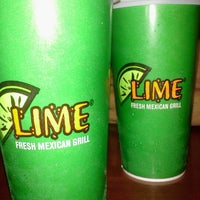 Photo taken at Lime Fresh Grill by Ismael S. on 7/23/2012