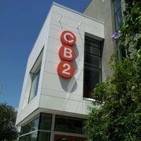 Photo taken at CB2 by Brett V. on 4/15/2012 ...