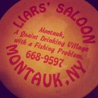 Photo taken at Liar's Saloon by Rachel T. on 4/1/2012