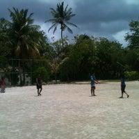 Photo taken at Paradise Island Resort Football Ground by Shujau on 8/22/2012