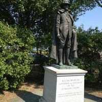Photo taken at William Bradford Statue by Nathan C. on 7/17/2012
