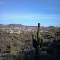 Photo taken at Sonoran Preserve - Sonoran Loop Trail by Julie H. on 3/14/2012