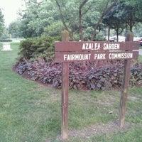Photo taken at Azalea Gardens by Brendan P. on 6/21/2012