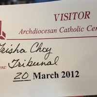 Photo taken at Archdiocese of Los Angeles by Trisha C. on 3/20/2012