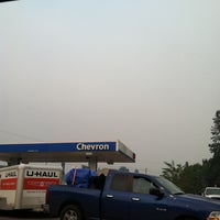 Photo taken at Chevron by erin m. on 8/24/2012
