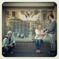 Снимок сделан в Площадь Тургенева пользователем Таня Б. 8/21/2012