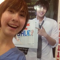 Photo taken at The Face Shop by Mia M. on 6/24/2012