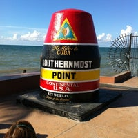 Photo taken at Southernmost Point Buoy by Brian on 9/8/2012