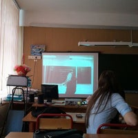Photo taken at Школа №1347 (главное здание) by Дарья З. on 4/20/2012