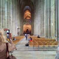 Photo taken at Canterbury Cathedral by Lisa M. on 6/10/2012