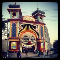 Photo taken at Luna Park by Leigh B. on 6/11/2012