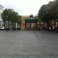 Photo taken at Plaza De Armas by Scott B. on 4/22/2012