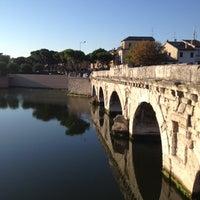 Photo prise au Ponte di Tiberio par Emanuela T. le8/20/2012