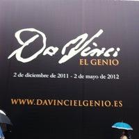 Photo taken at Exposición Da Vinci by Carlos C. on 4/5/2012