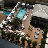 Photo taken at Mondrian Hotel by Duncan H. on 6/28/2012