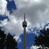Photo taken at Stuttgart Television Tower by Micho B. on 6/25/2012