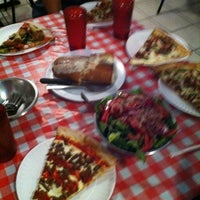 Photo taken at Mulberry Street Pizzeria by Lydia on 8/15/2012