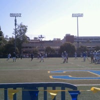 Photo taken at UCLA Spaulding Field by Sagar J. on 4/7/2012