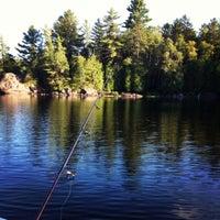 Photo taken at Whitestone Lake by Krystal O. on 8/21/2012