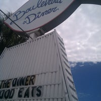 Photo taken at Boulevard Diner by michael s. on 8/21/2012